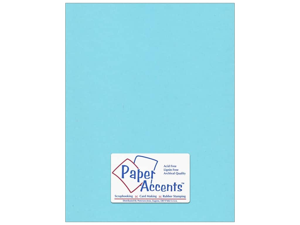 Cardstock 8 1/2 x 11 in. #188 Smooth Splash by Paper Accents ADP8511-25.188
