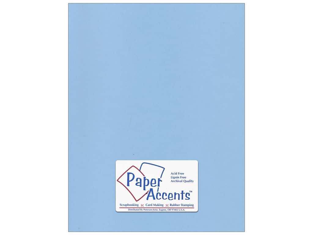 Paper Accents Cardstock 8 1/2 x 11 in. #96 Smooth Blue Willow ADP8511-25.96
