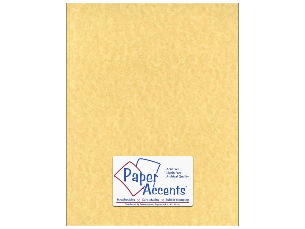Paper Accents Cardstock 8 1/2 x 11 in. #211 Parchment Ancient Gold ADP8511-25.211