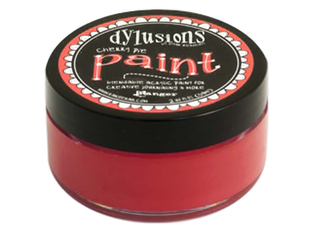 Ranger Dylusions Paint 2 oz. Cherry Pie DYP50964