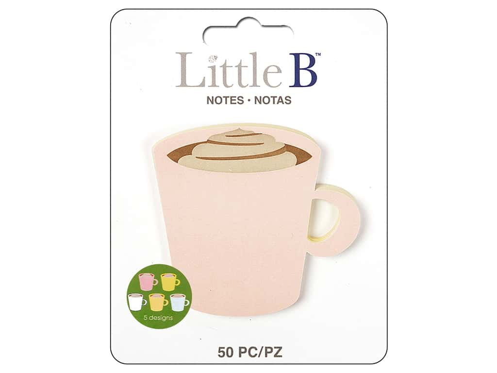 Little B Paper Adhesive Notes Coffee Cup