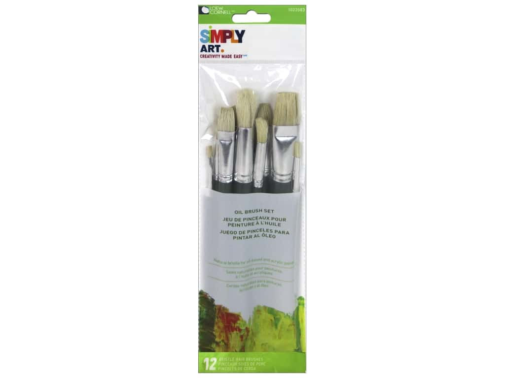Loew Cornell Simply Art Acrylic Paints 12pc 1021093