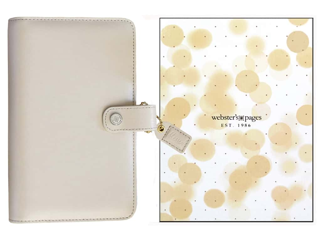 Webster's Pages Color Crush 2016 Personal Planner Kit Natural
