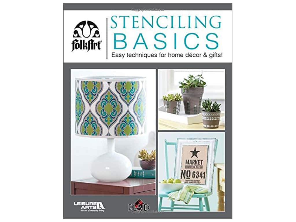 Leisure Arts Stenciling Basics Book