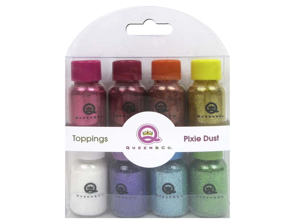 Queen&Co Collection Toppings Set Pixie Dust Glitter