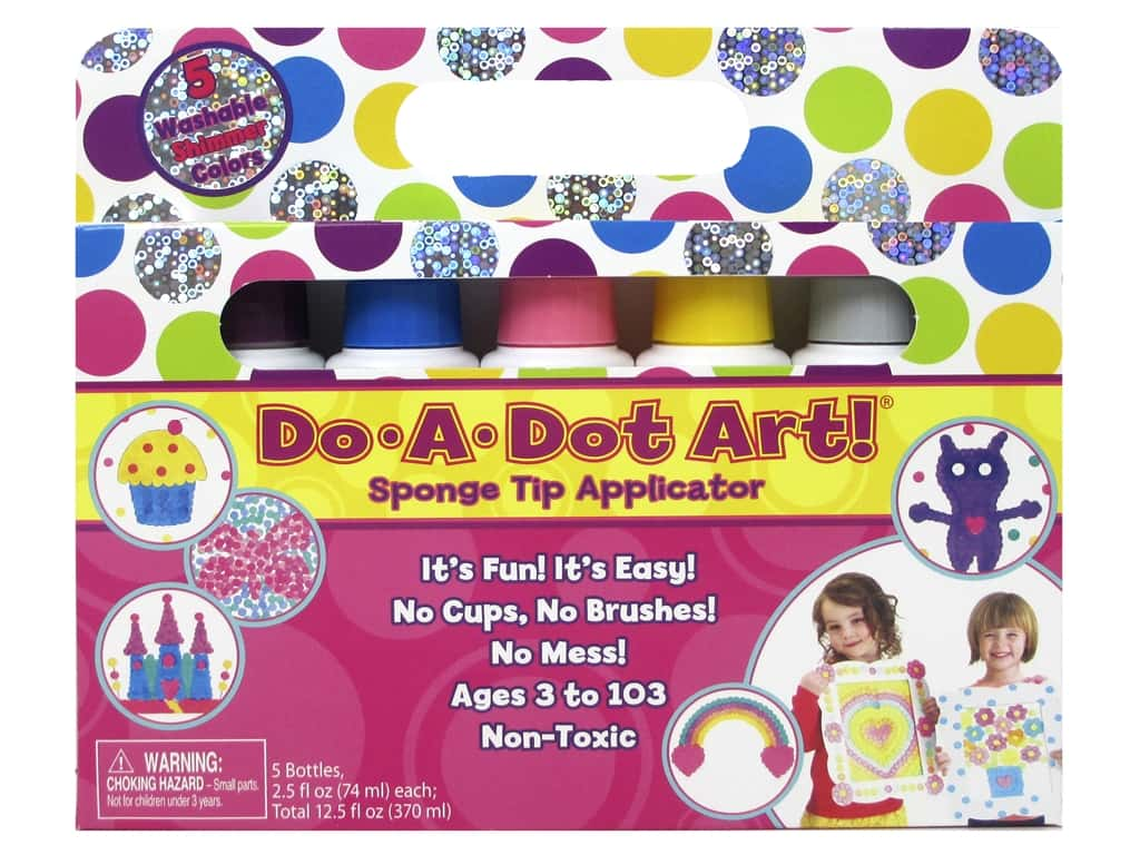 Do-A-Dot Art Markers Shimmers 5pc