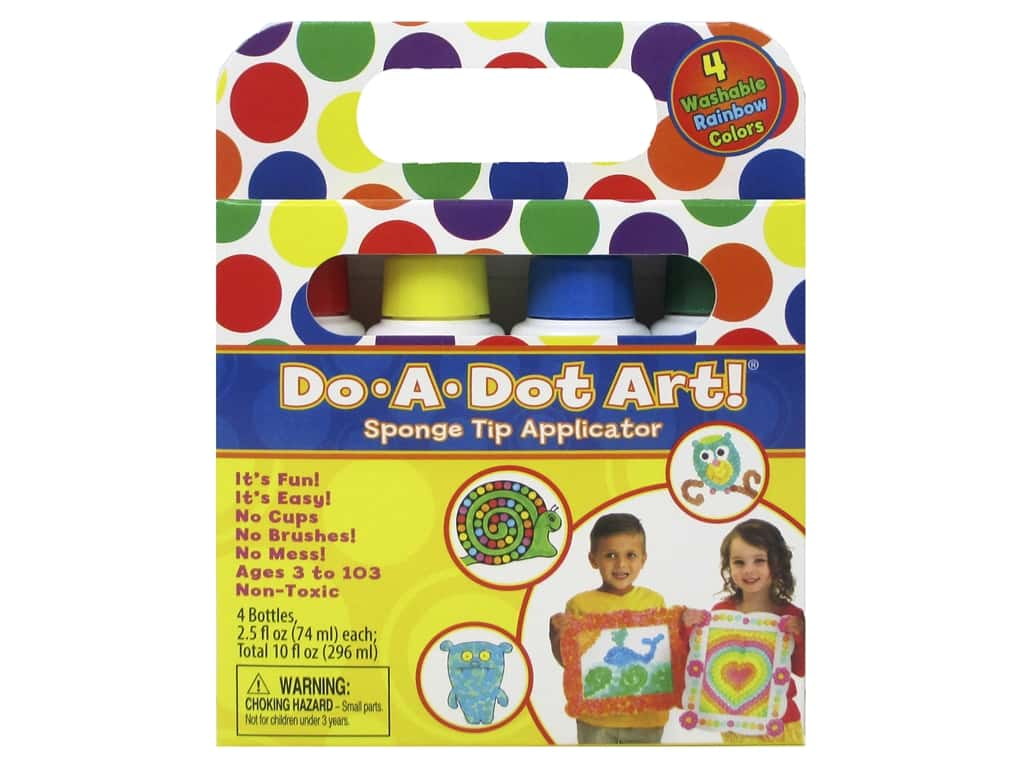 Do-A-Dot Art Markers Rainbow 4pc