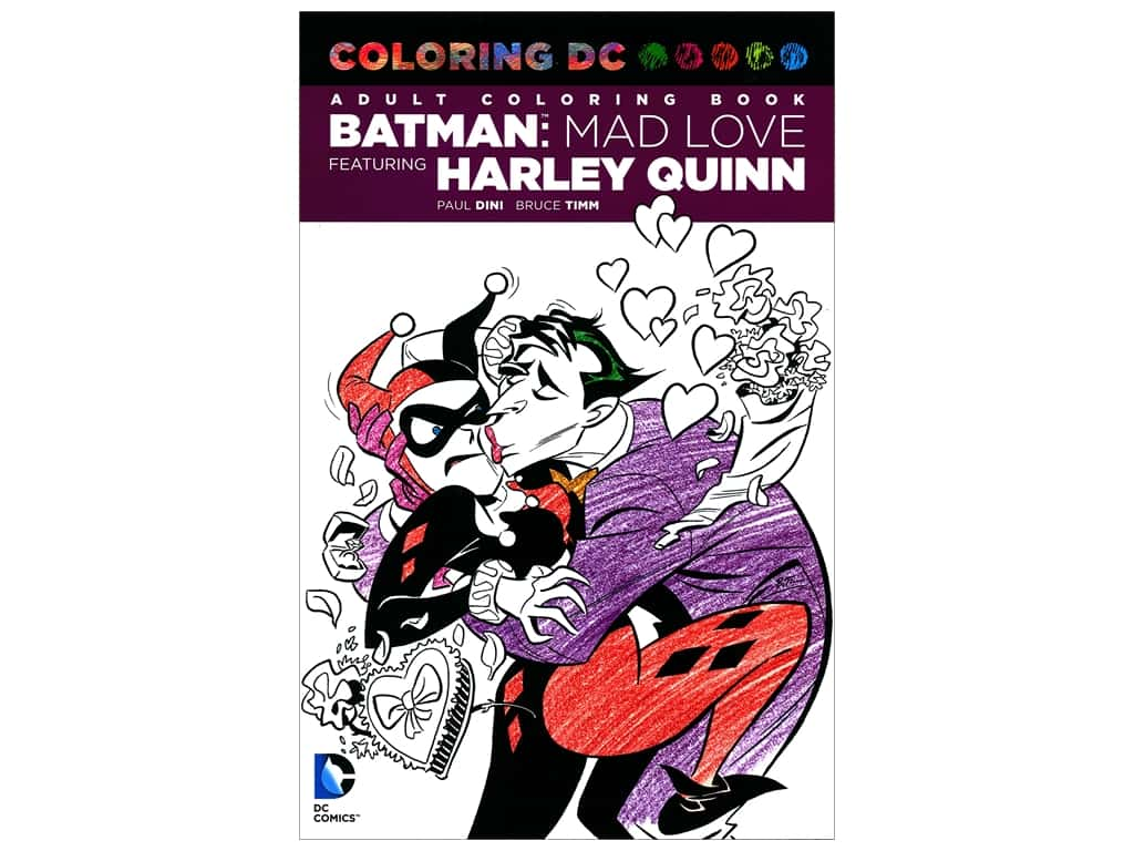 Batman: Mad Love Harley Quinn Coloring Book