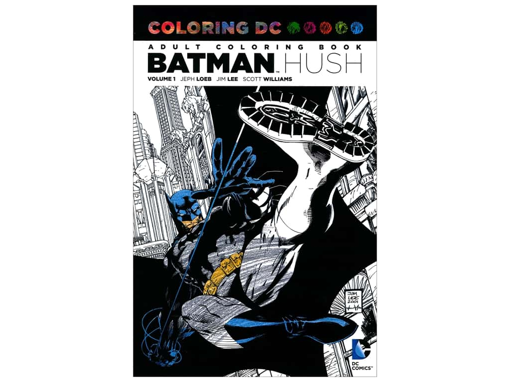 DC Comics Books Batman Hush Coloring Book