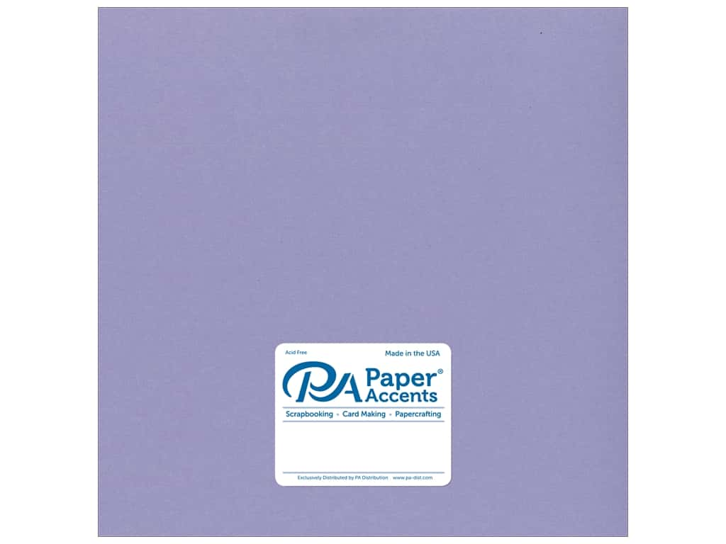Cardstock 12 x 12 in. Smooth Bellflower by Paper Accents
