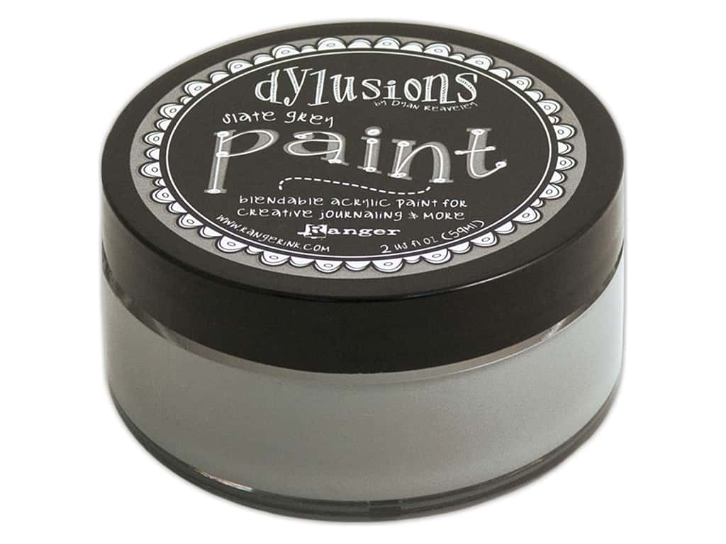 Ranger Dylusions Paint 2 oz. Slate Grey