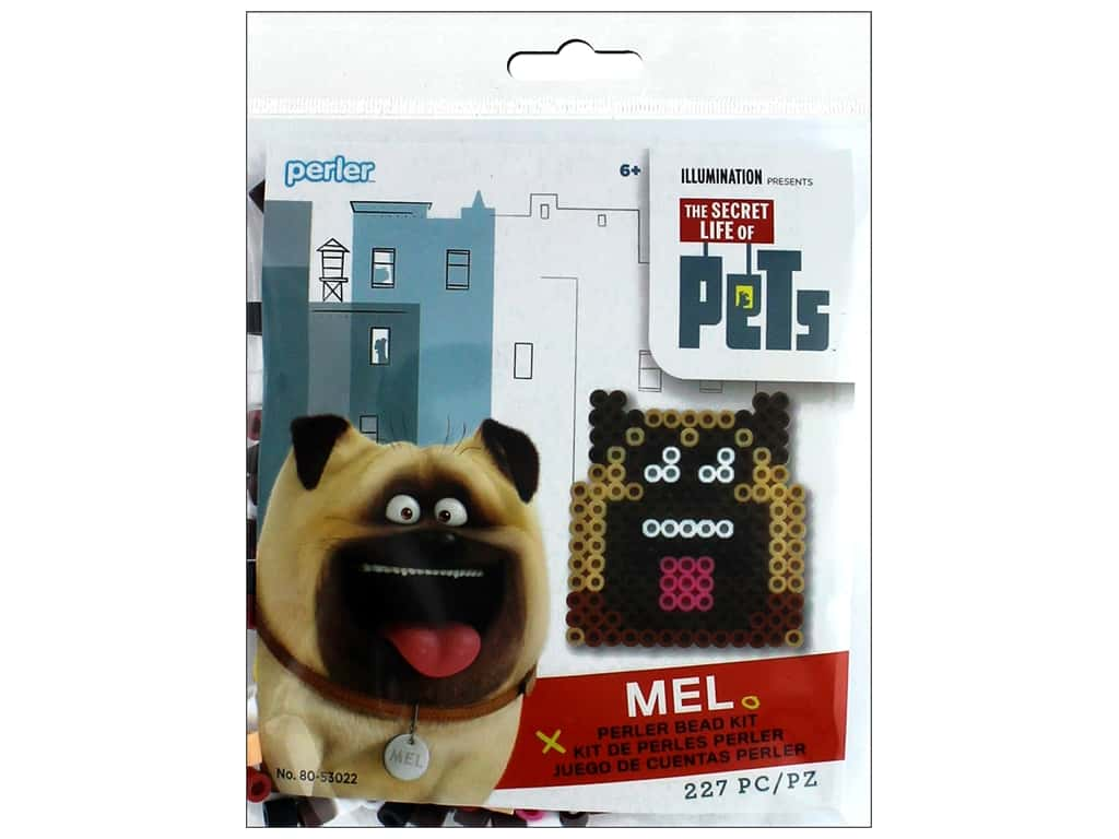 Perler Fused Bead Kit Trial Secret Life Of Pets Mel