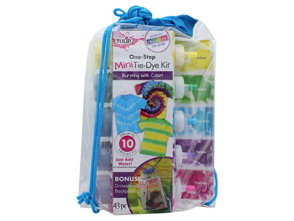 Tulip One Step Dye Kit 5 Color Mini Backpack
