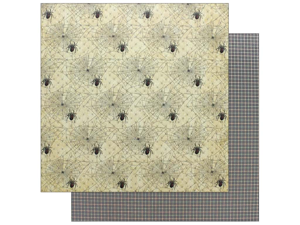 """Graphic 45 Collection Master Detective Paper 12""""x 12"""" Web Of Lies"""