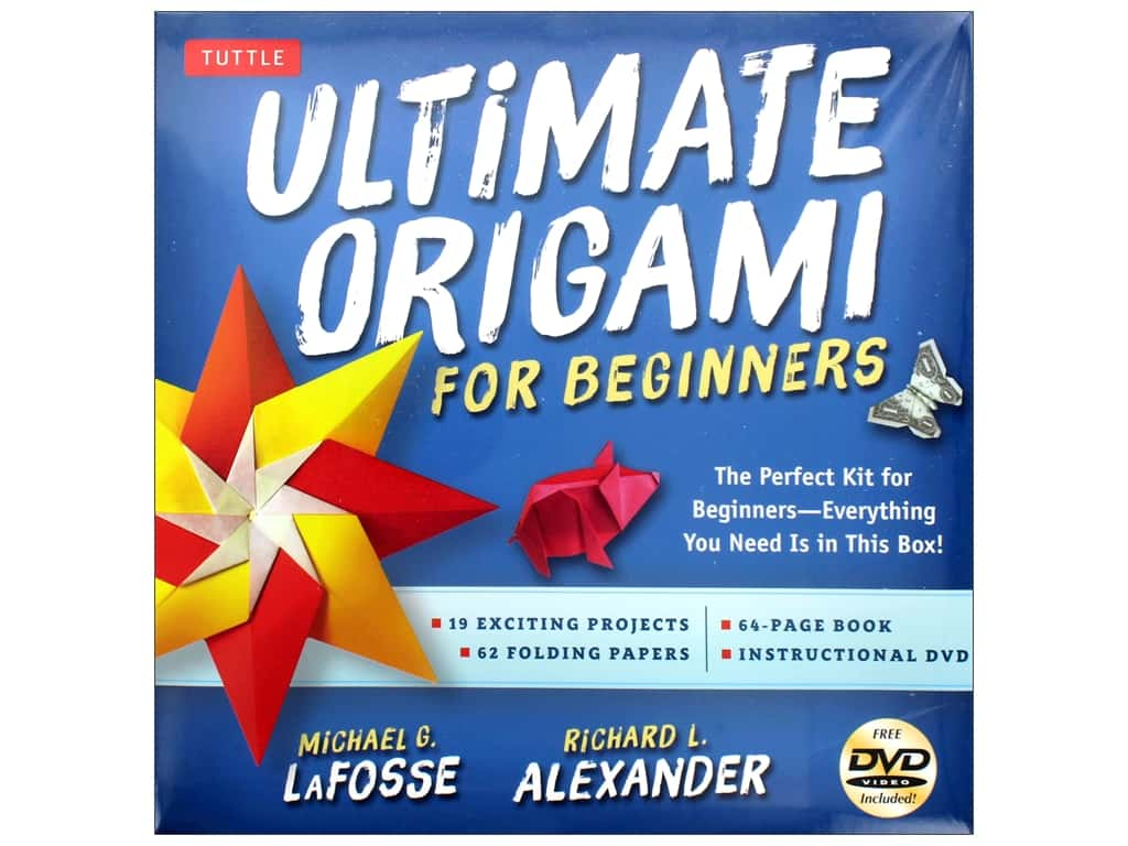 Tuttle Publishing Ultimate Origami For Beginners Kit & Book