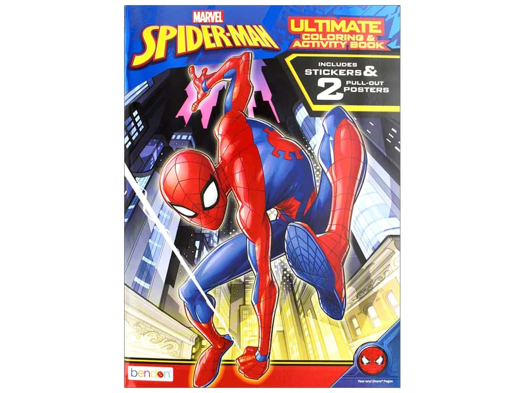 Bendon Ultimate Coloring & Activity Book Spider-Man